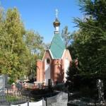 Часовня в честь иконы Божией Матери «Умиление» Серафимо-Дивеевской